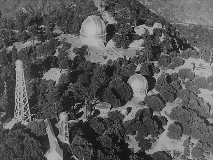 Mt Wilson Observatory 1920s