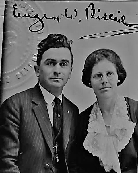 Biscailuz and wife photo