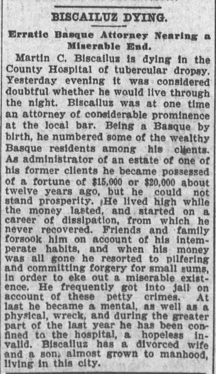 Martin Biscailuz obit Times_Jun_21__1899_