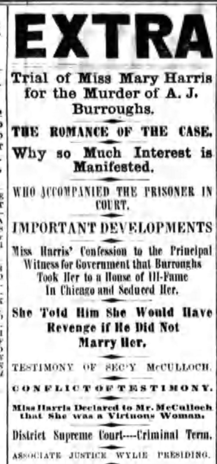 mary harris trial headline national_republican_jul_8__1865_