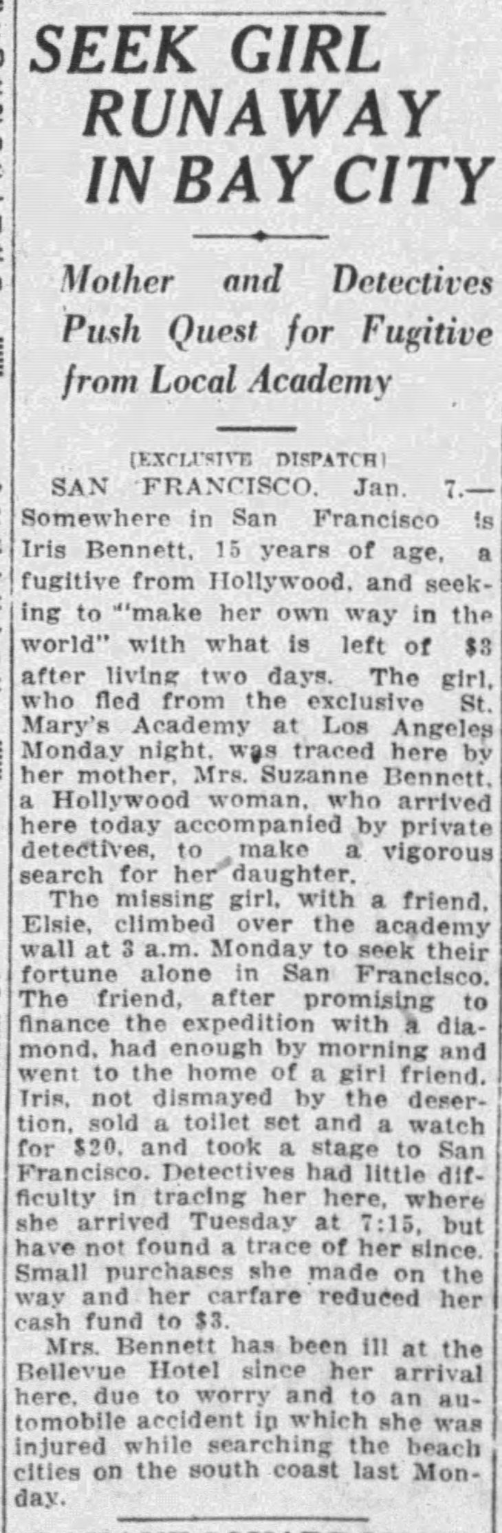 st. marys academy escapee times_jan_8__1925_