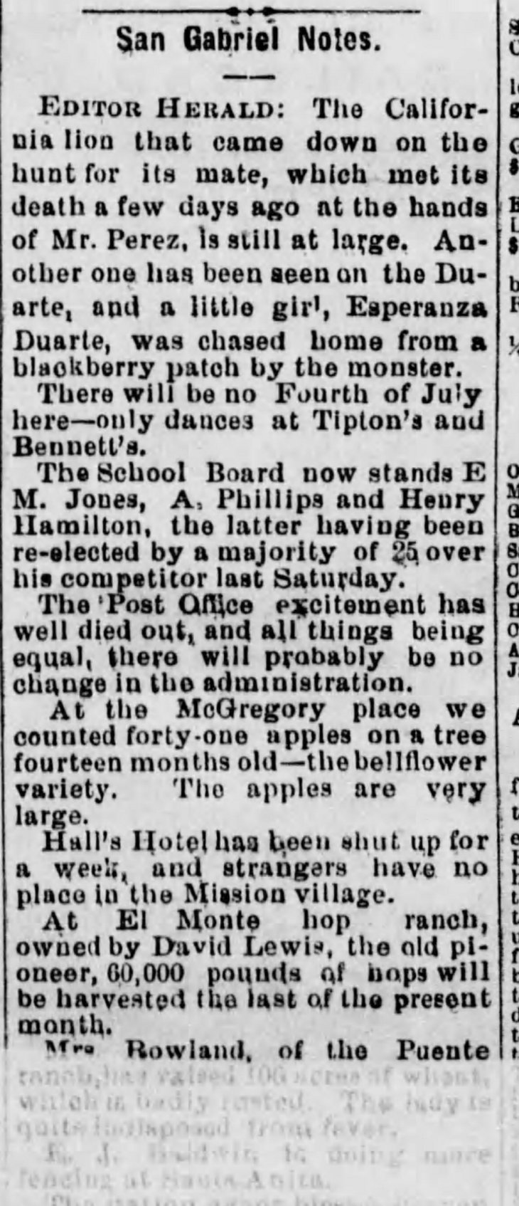 San Gabriel School Board Los_Angeles_Herald_Thu__Jul_4__1878_