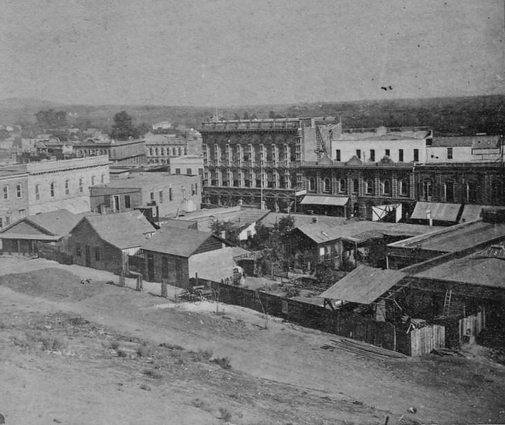 Payne Temple Block area 1872