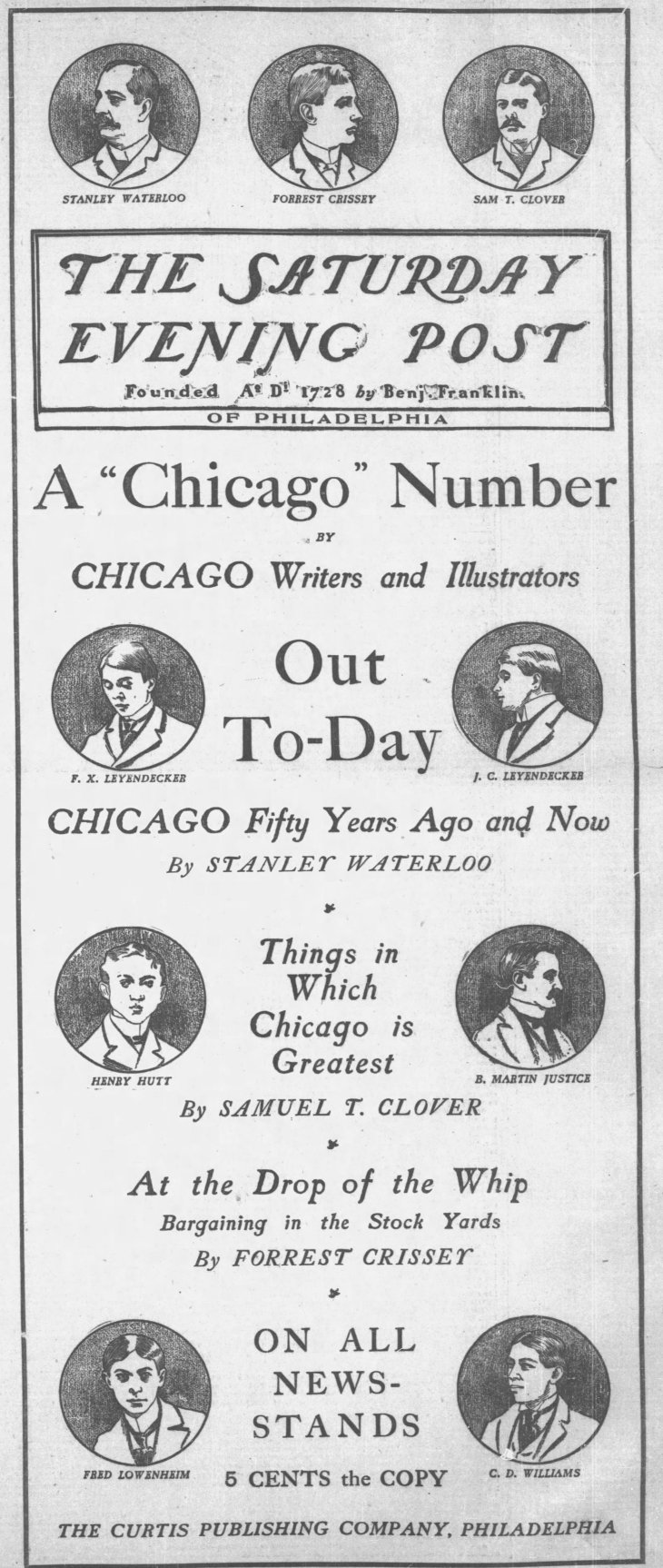 Saturday Evening Post ad Chicago_Tribune_Thu__Mar_2__1899_