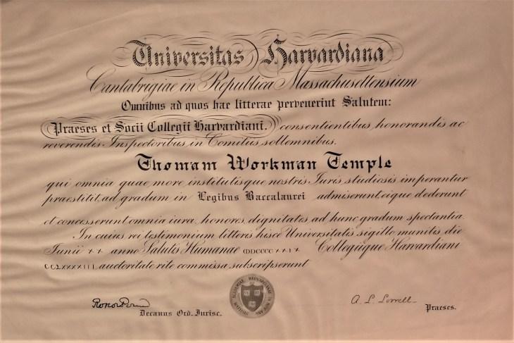 Thomas diploma