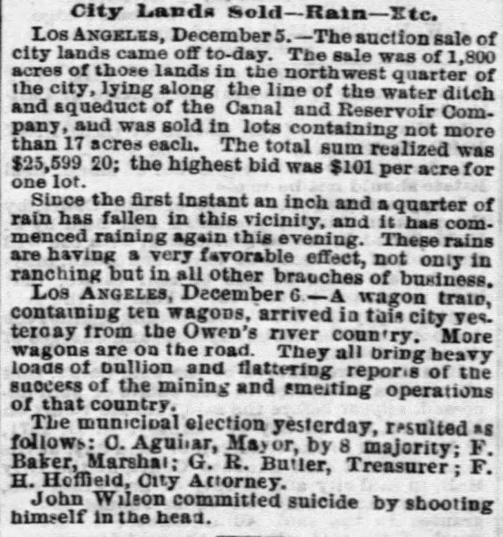 Wilson suicide The_San_Francisco_Examiner_Wed__Dec_7__1870_