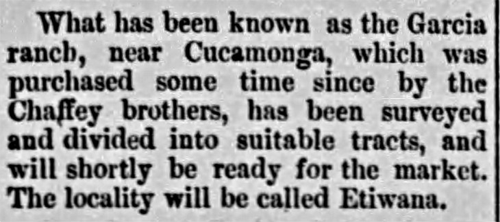 Etiwanda first mention The_Los_Angeles_Times_Tue__Apr_4__1882_