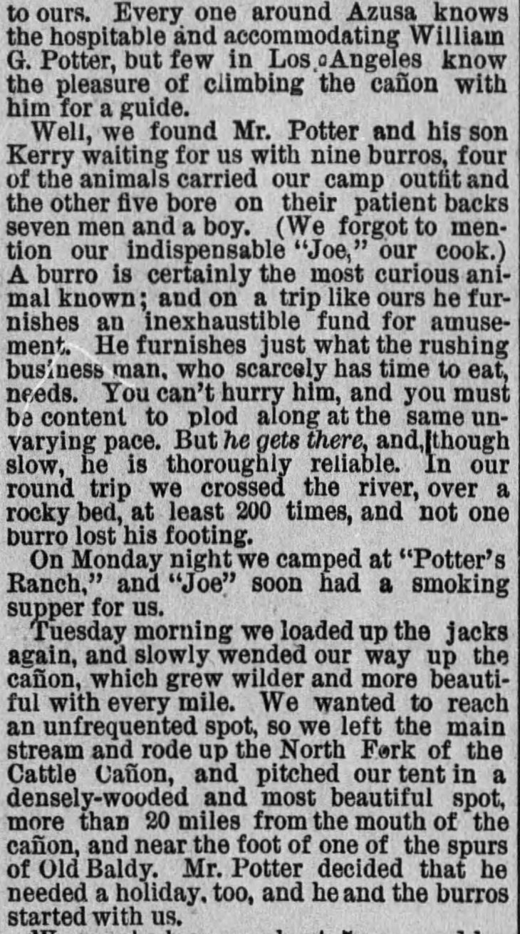 William as canyon guide The_Los_Angeles_Times_Mon__May_28__1888_