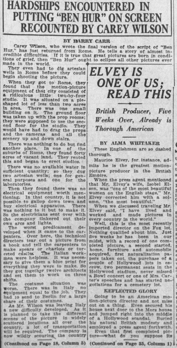 Ben Hur hardships The_Los_Angeles_Times_Sun__Aug_24__1924_