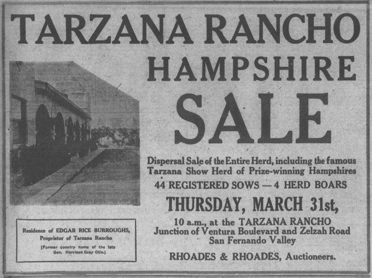 Tarzana Rancho ad The_Los_Angeles_Times_Sun__Mar_27__1921_