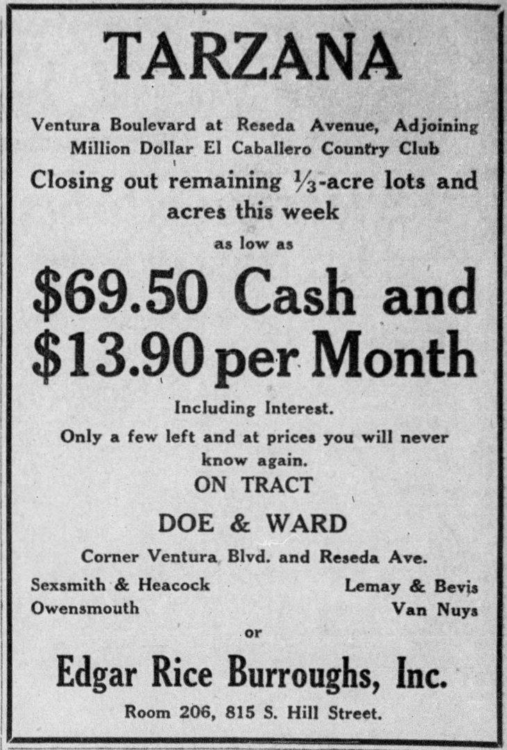 Tarzana tract from map ad The_Los_Angeles_Times_Sun__May_24__1925_ (1)