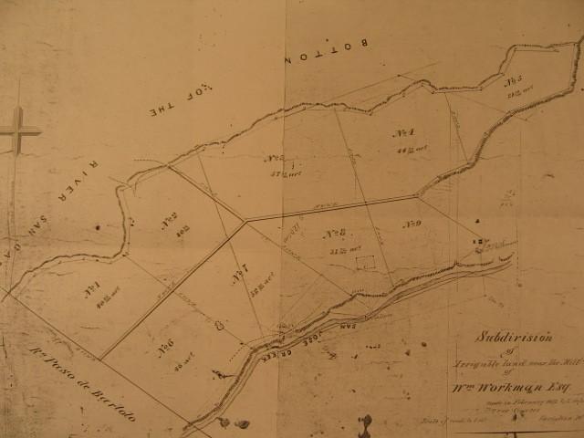Workman Mill map 1872