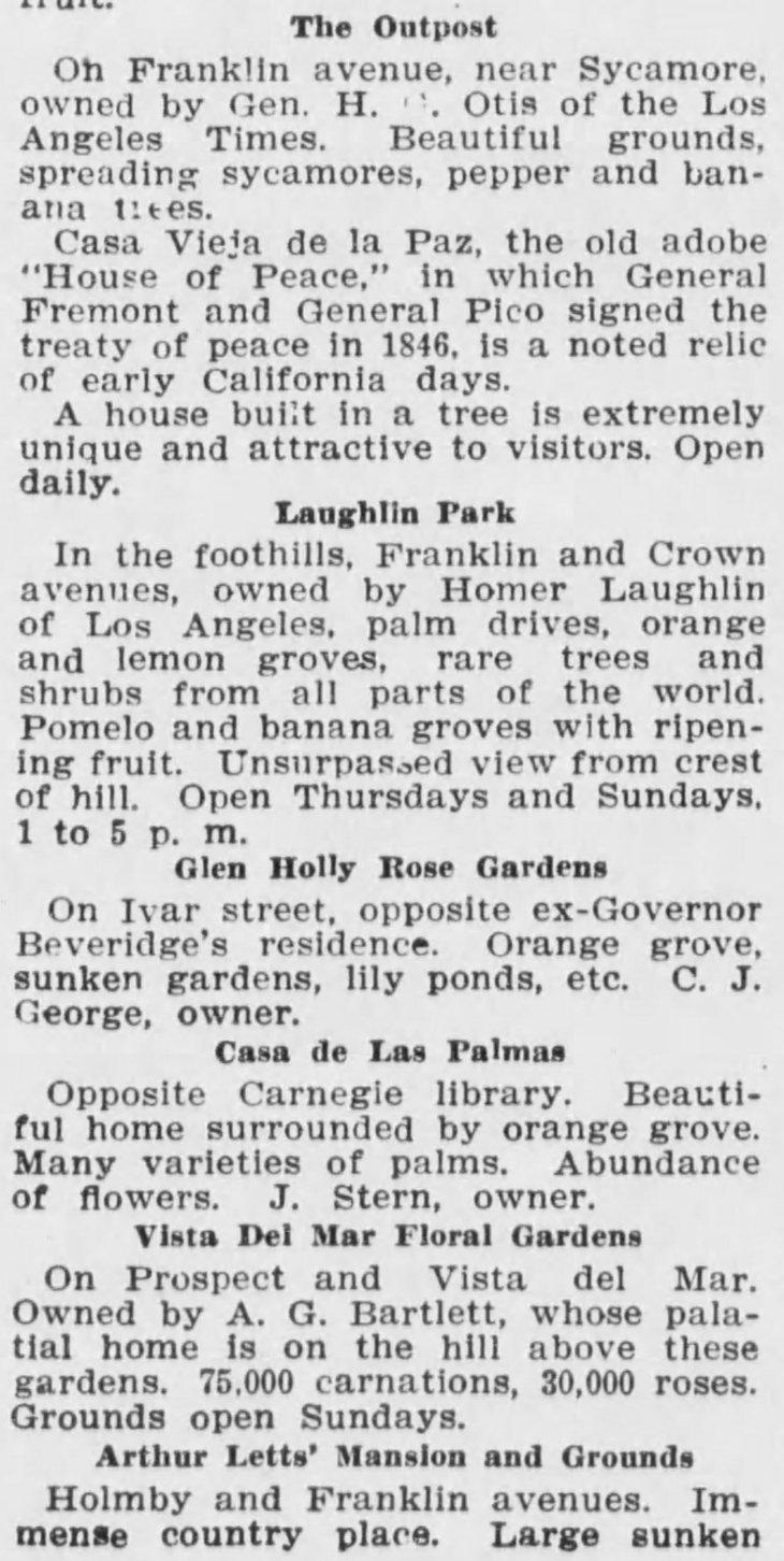 Vista del Mar Floral Gardens Los_Angeles_Herald_Sun__Sep_19__1909_