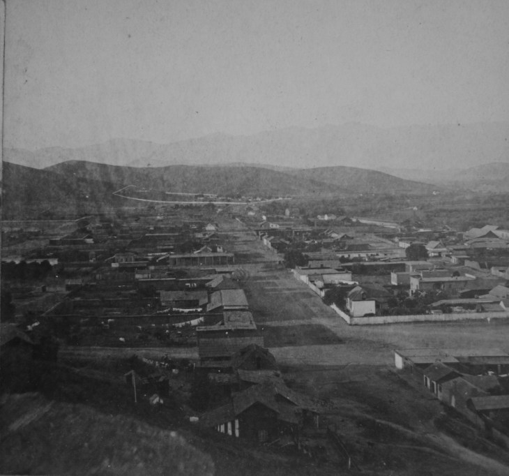 Birdseye Sonoratown LA Godfrey 1870