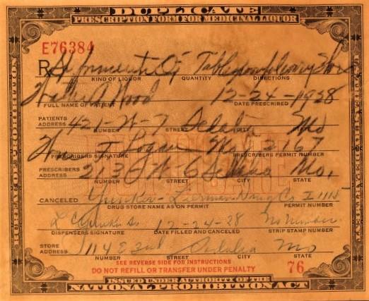 Prohibition Prescription 24Dec28