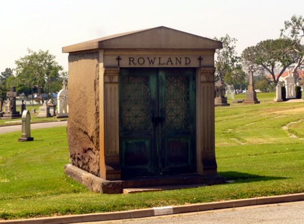 Rowland mausoleum Calvary