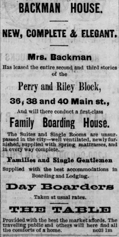 Backman House ad Evening_Express_Tue__Nov_24__1874_