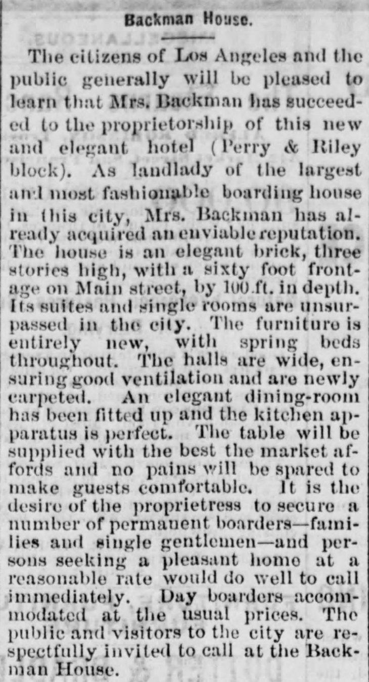 Backman House Los_Angeles_Herald_Tue__Nov_24__1874_