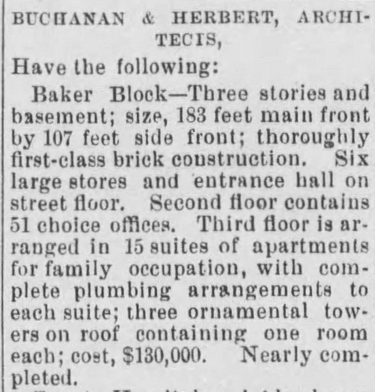 Baker Block The_Evening_Express_Tue__Aug_27__1878_
