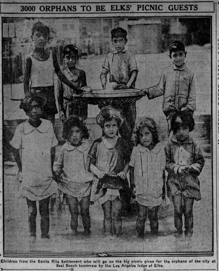 Santa Rita kids at Seal Beach Evening_Express_Fri__Aug_16__1929_