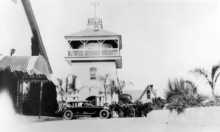 Water Tower From South ca 1925 99.5.3.94