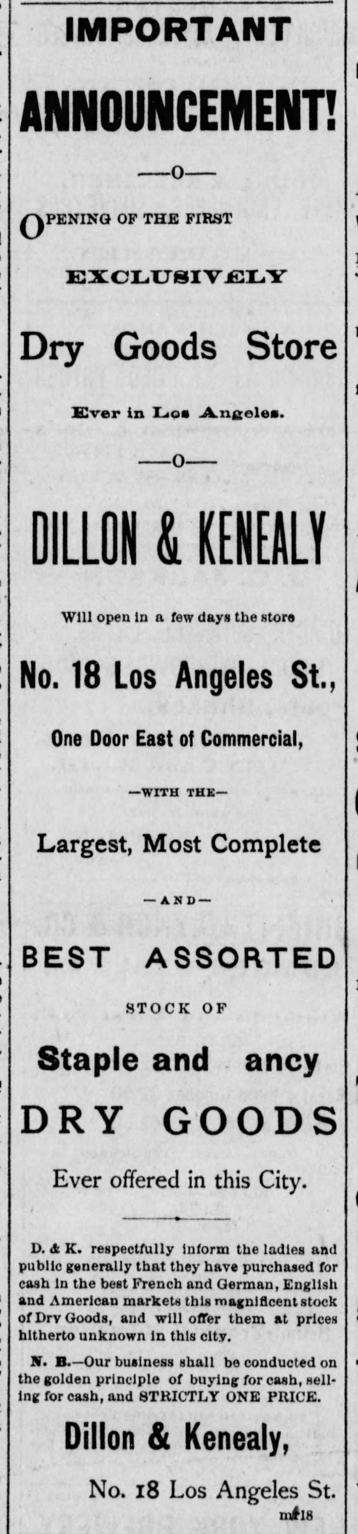 Dillon & Kenealy Los_Angeles_Herald_Thu__Mar_18__1875_