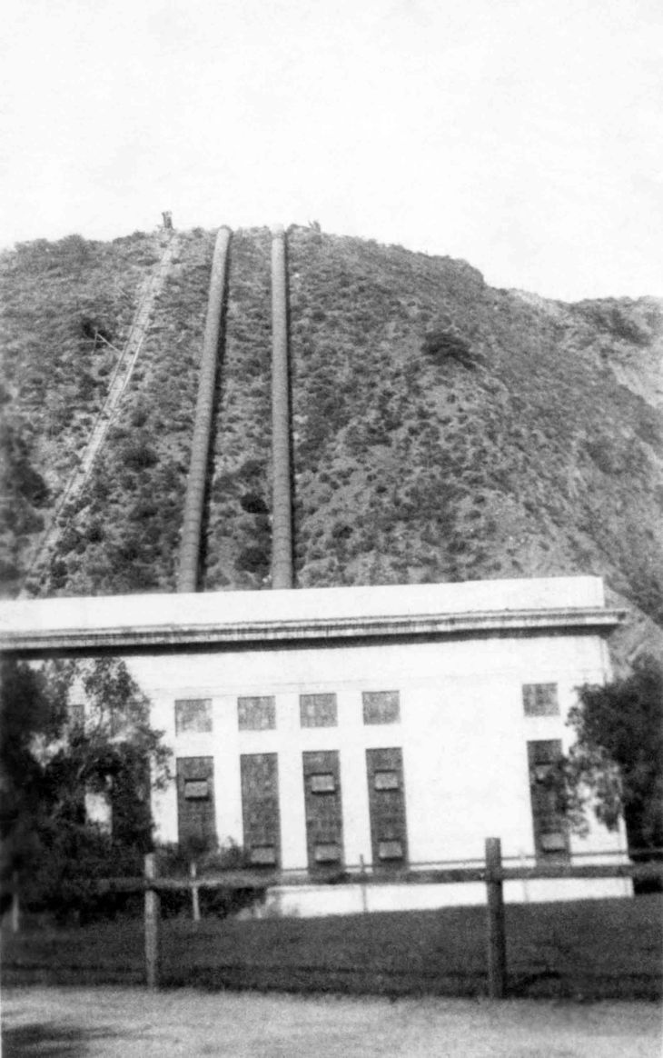 A View of Power House No.2 St Francis Dam 2015.458.1.1