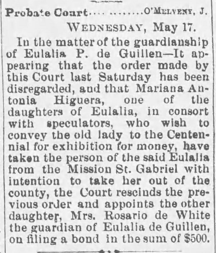 Eulalia Guillen Probate Court The_Daily_Evening_Express_Wed__May_17__1876_ (2)