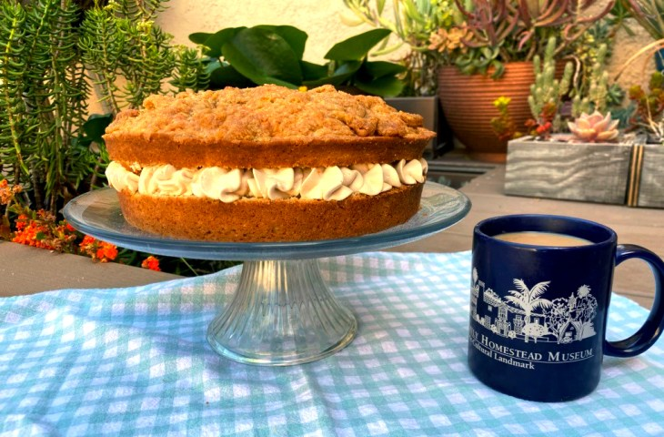 Mrs. Gray's Spiced Coffee Cake done