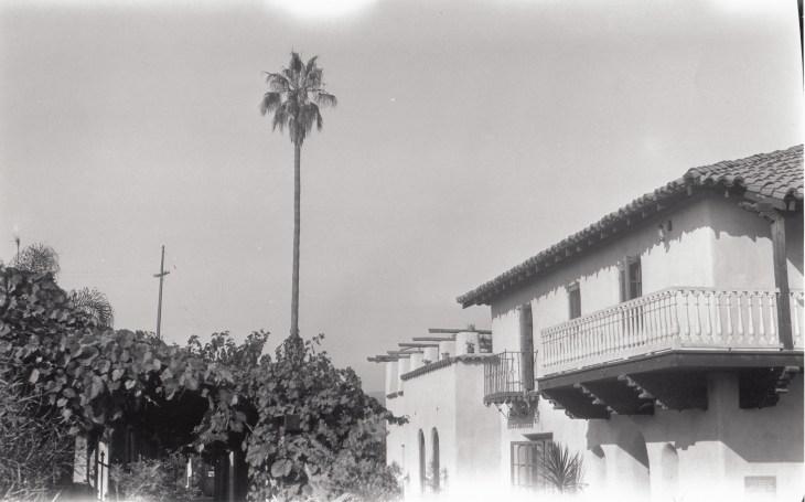 Photo 1 La Casa Nueva east elevation looking south, ca. 1928 2005.420.1.38