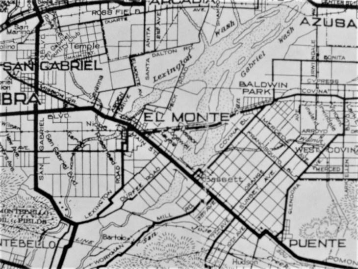 AAA El Monte area 1923
