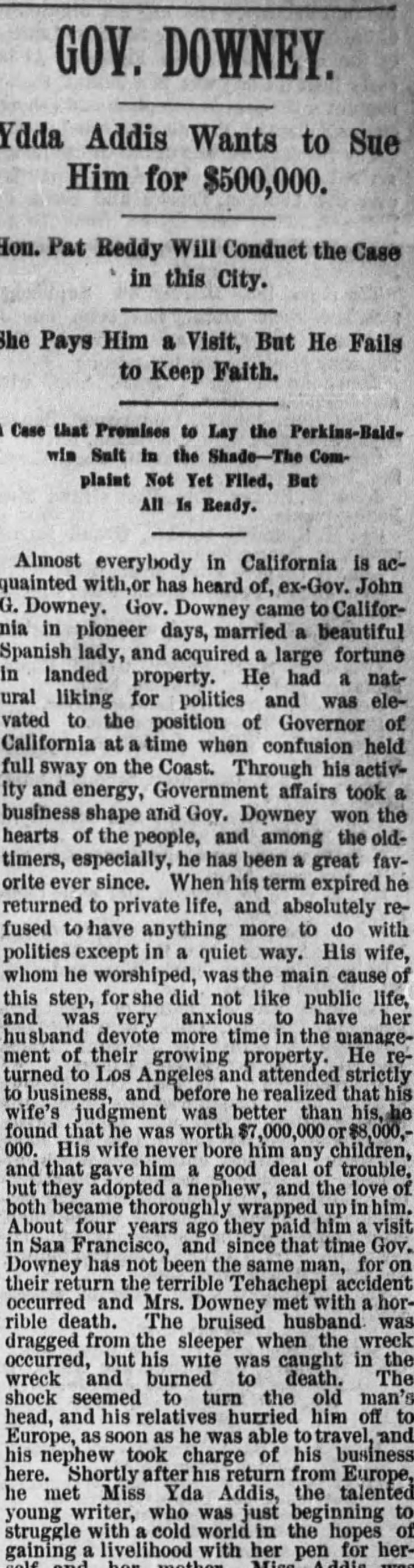 Yda Downey detall The_Los_Angeles_Times_Sat__Oct_1__1887_