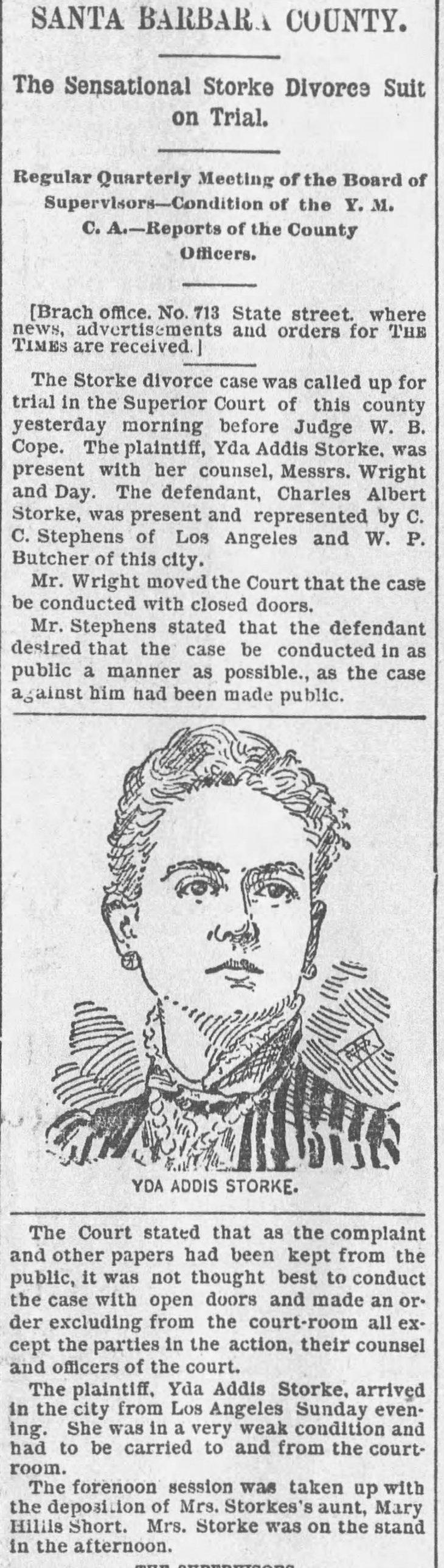 Yda image divorce suit The_Los_Angeles_Times_Tue__Jan_5__1892_