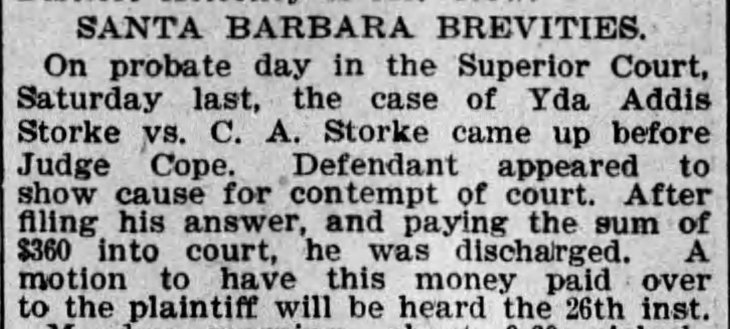 Yda Storke contempt hearing The_Los_Angeles_Times_Tue__Jan_23__1894_