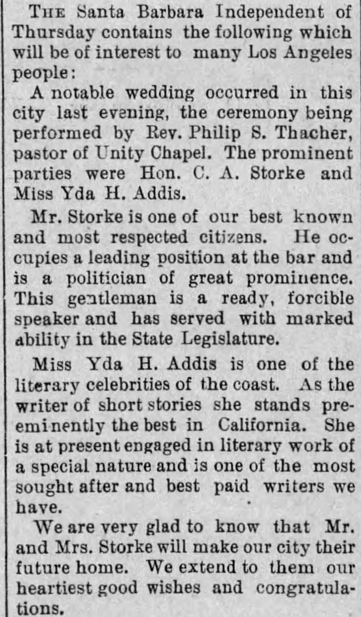 Yda Storke The_Evening_Express_Sat__Sep_13__1890_