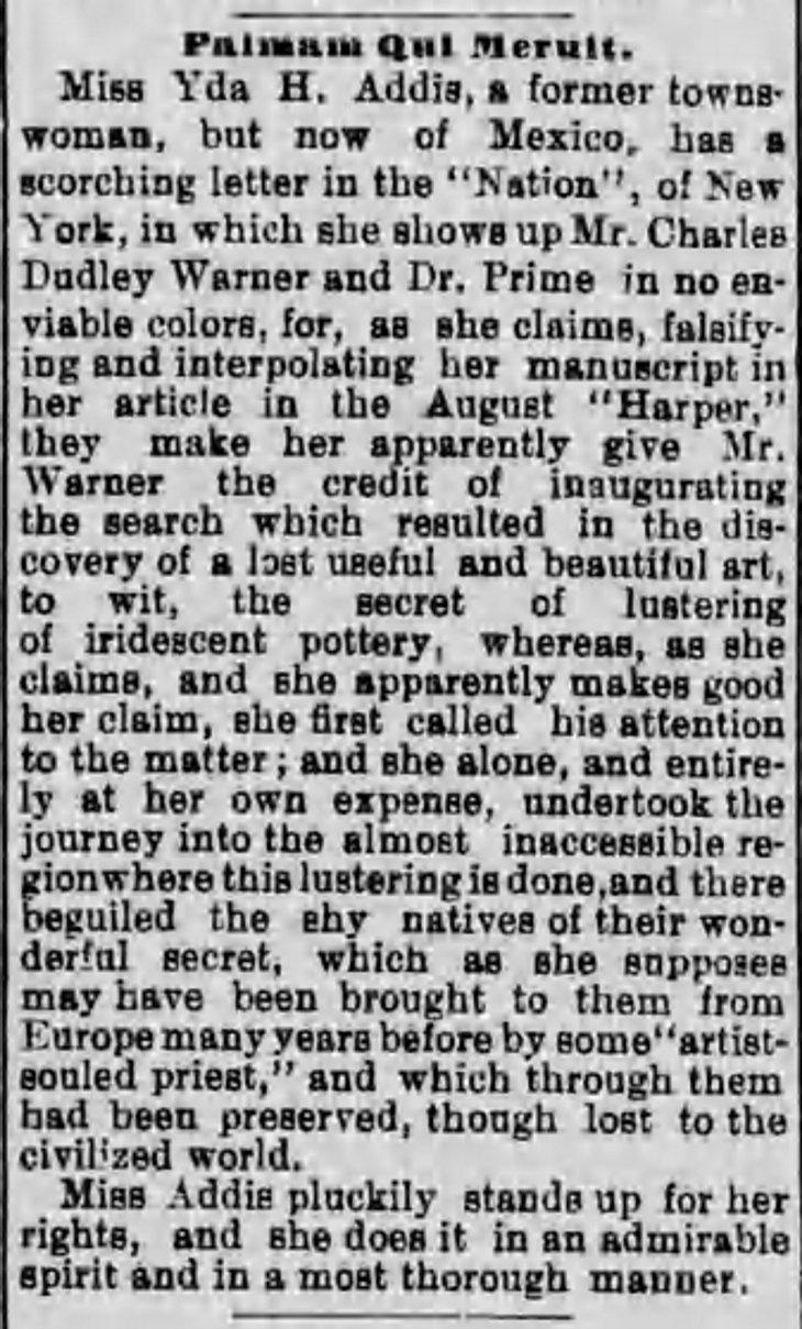 Yda Warner Los_Angeles_Herald_Fri__Sep_13__1889_