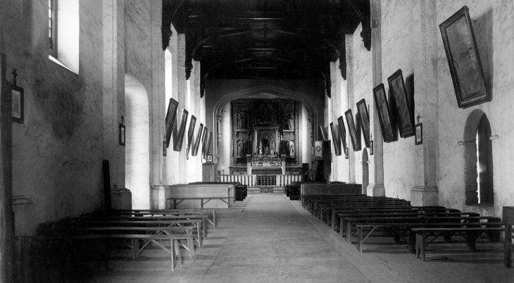 68 Interior of San Gabriel Mission 2012.439.1.2