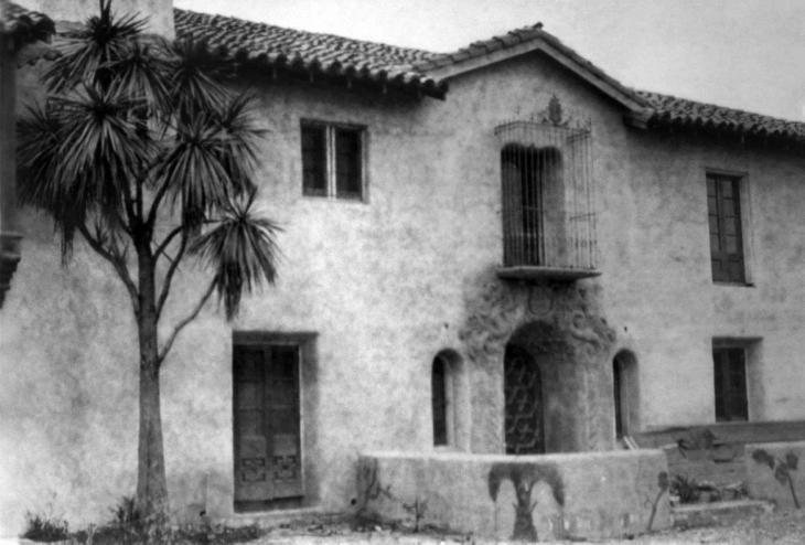 0919035 La Casa Nueva North Elevation 2000.272.1.2