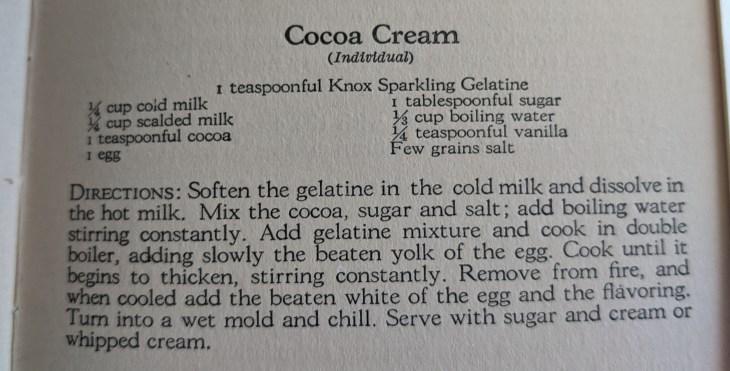 3 Health Knox Cocoa Recipe