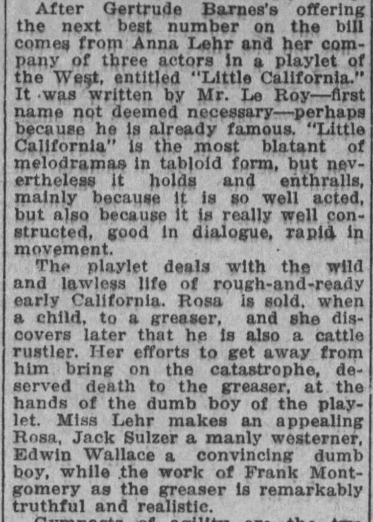 Frank MOntgomery acting The_Los_Angeles_Times_Tue__Mar_10__1914_
