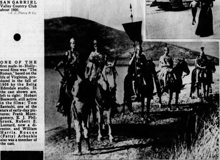 Frank Montgomery photo The Roman 1909 The_Los_Angeles_Times_Sun__Jun_17__1934_