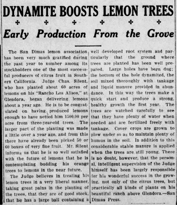 Lemons Rancho Los Alisos The_Pomona_Daily_Review_Sat__Dec_12__1914_