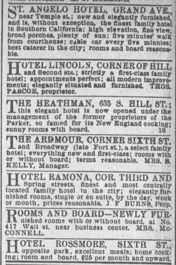 Hotel Ramona The_Los_Angeles_Times_Fri__Apr_18__1890_