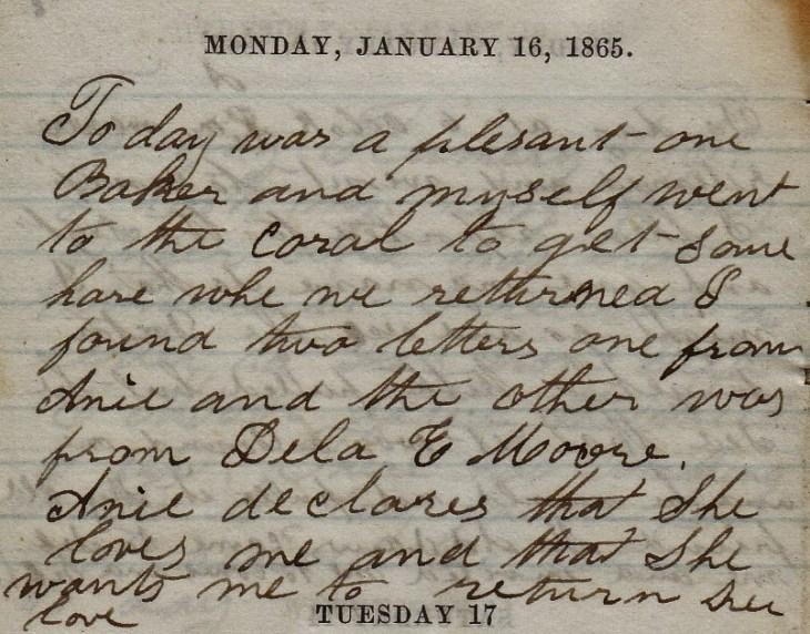 Jenkins Diary January 16-21