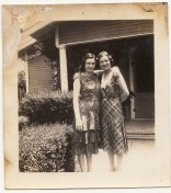 Two young women, ca. 1920s.