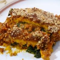 Genial: vegane Kürbis-Lasagne ohne Pasta