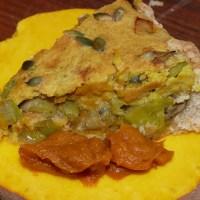 Frisch vom Feld: Kürbis-Ernte & Frisch aus dem Ofen:Kürbis-Pie
