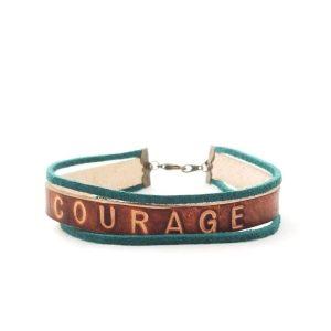 Word Bracelet - Courage