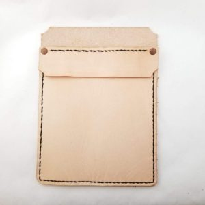 Leather Pocket Protector - Small Plain