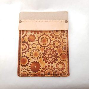 Leather Pocket Protector - Small Gear